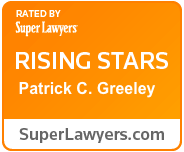 Patrick Greeley SuperLawyers Badge